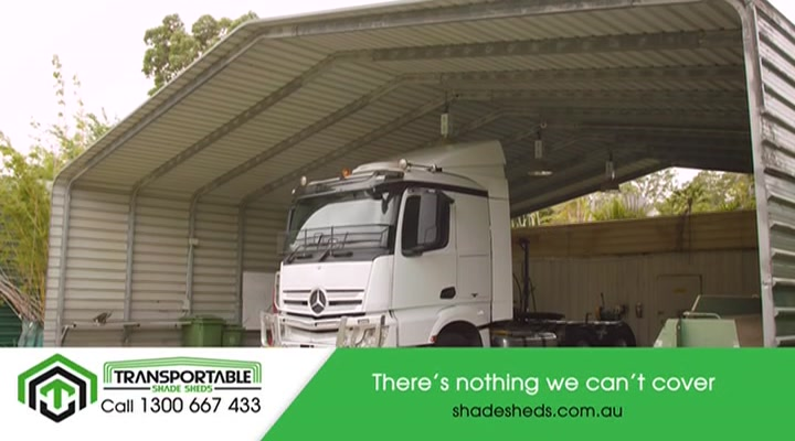 Transportable Shade Sheds