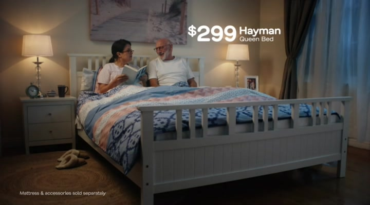 Fantastic Furniture Hayman Que Queen Bed 299