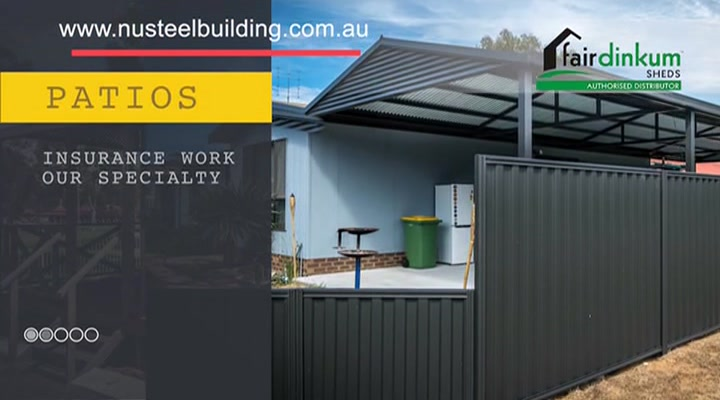 NuSteel Patios And Sheds