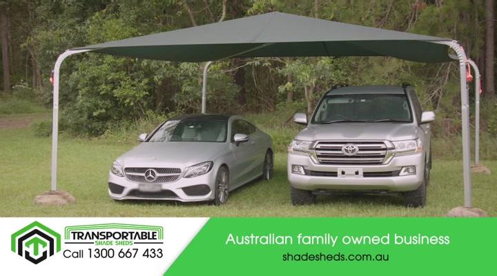 Transportable Shade Sheds