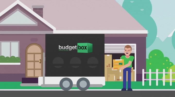 Budget Box Mobile Storage