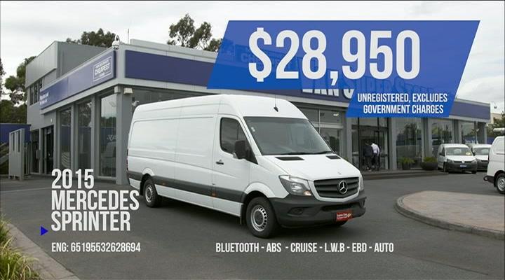 Melbourne's Cheapest Vans