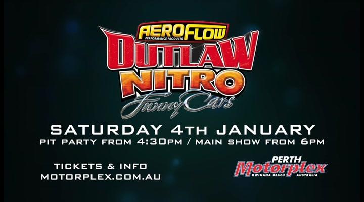 Aeroflow Outlaw Nitro Funny Cars