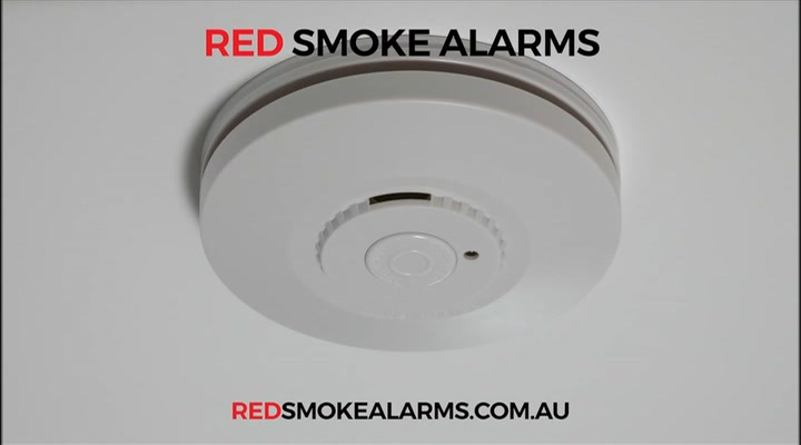 Red Smoke Alarms