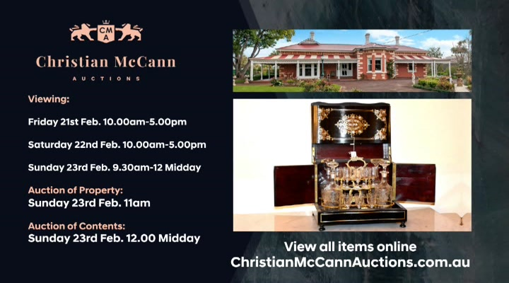 Christian McCann Auctions