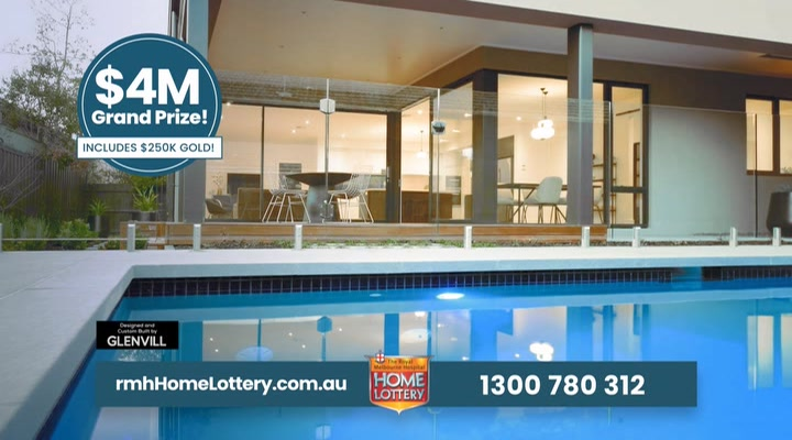 Royal Melbourne Hospital Home Lottery