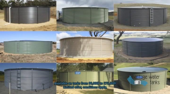 Heritage Water Tanks