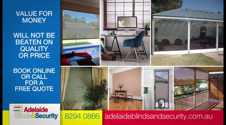 Adelaide Blinds & Security