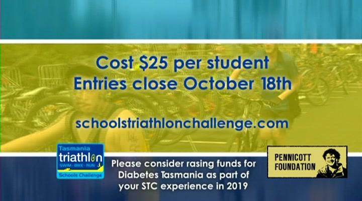 Tasmanian Schools Triathlon Challenge
