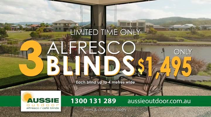Aussie Outdoor Alfresco/Café Blinds